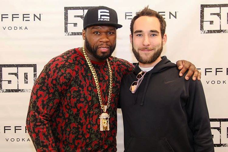 50 Cent and Taylor Edmiston